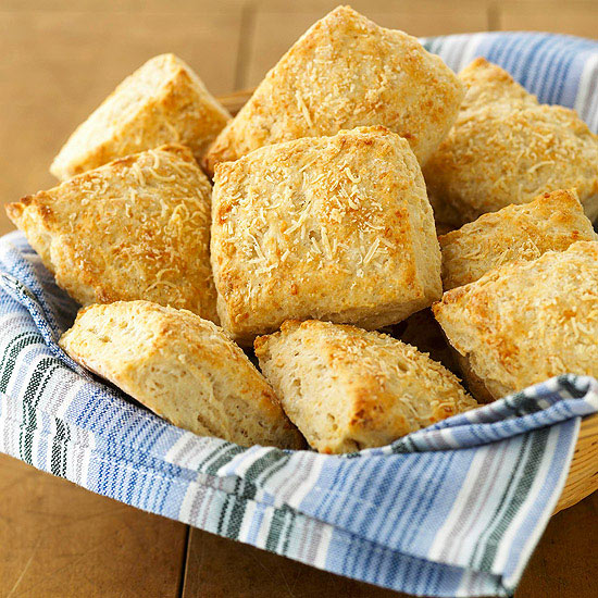 Two-Cheese Garlic n Herb Biscuits