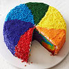 Rainbow Pinwheel Cake