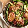 Chicken, Asparagus & Bacon Skillet