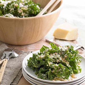 Raw Tuscan Kale Salad with Pecorino
