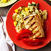 Grilled Mahi Mahi with Pineapple Green Rice