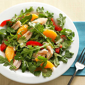 Smoked Turkey Salad with Oranges