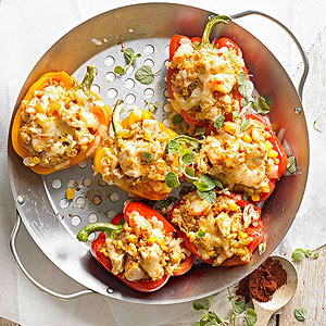 Southwestern Stuffed Roasted Peppers
