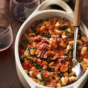 Hearty Tuscan Bean Casserole