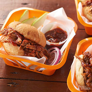 Slow-Simmered Pulled Pork Sandwiches