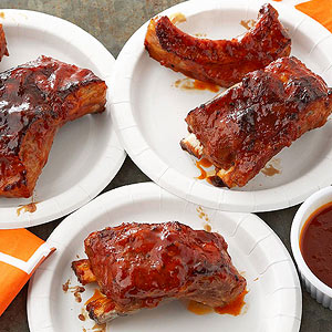 Apricot Chipotle Pork Ribs