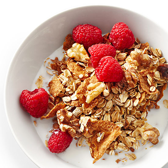 Two-Way Nutty Granola Cereal