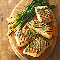Grilled Halibut Sarandeado