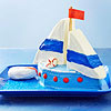 Sailboat Cake for Father's Day