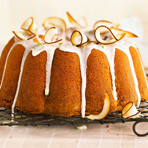 Lime-Infused Coconut Pound Cake
