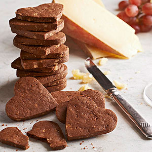Smoky Chocolate Crackers