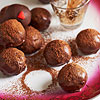 Triple-Chocolate Cake Balls