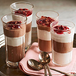 Mini Chocolate and Yogurt Parfaits