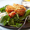 Mini Crab Cakes with Orange Aioli