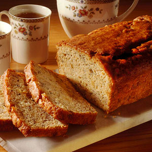 Reduced-Calorie Banana Bread