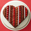 Red Velvet Heart Cake