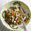 Bulgur Salad with Chickpeas, Feta & Mint