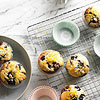 Citrus-Topped Double-Blueberry Muffins