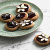 Grape-Glazed Almond Butter Shortbread