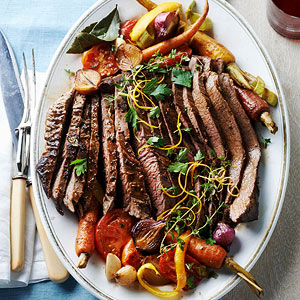 Brisket with Ginger Orange Peel and Tomato