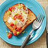 Fried Egg Toast with Tomatoes