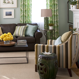 Fall Color Faves: Blue & Green