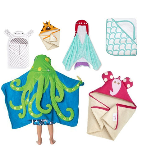 Shop all hooded towels now!