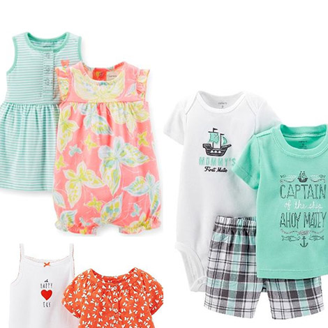 Shop adorable baby clothes now!