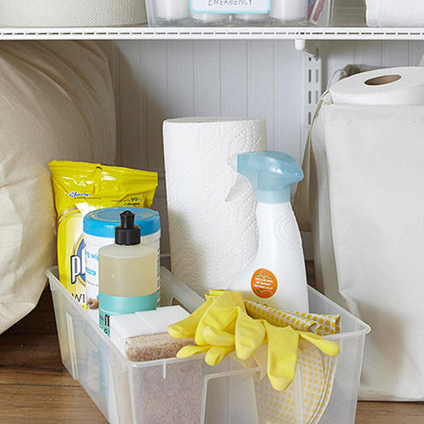 Shop handy helpers for an easier spring cleaning >>