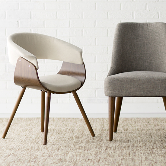 Get A Leg Up On Your Living Room Style With A Set Of These Mod Meets Retro  Chairs! Perfectly Paired With A Shag Rug To Accent Its Midcentury Marvel,  ...
