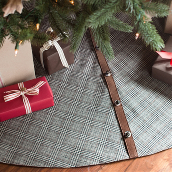 nothing gives off the homey vibe of christmas like a nice plaid pattern this tree skirt keeps things traditional while offering a rustic touch to your - Walmart Christmas Tree Skirts