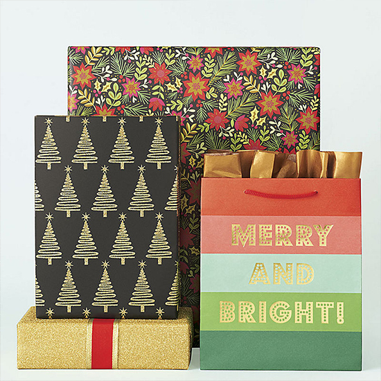 It S A Wrap Gorgeous Holiday Wrapping Paper Ribbon And Tags