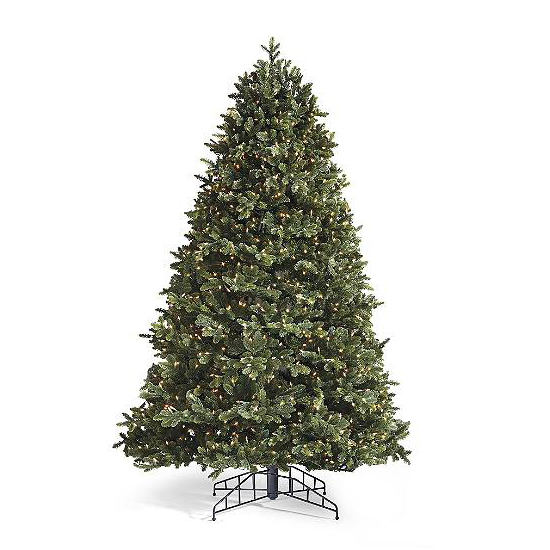 the noble artificial tree will impress friends and family with its realistic look from the frontgate natural series it features the same needles - 10 Artificial Christmas Tree