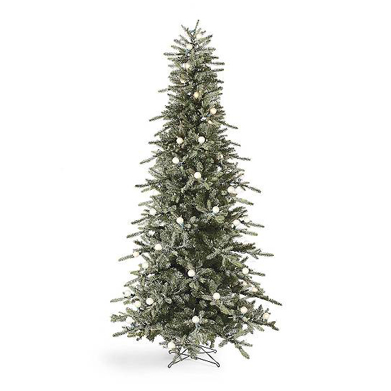 this tree is perfect for nooks and crannies around your home or to give your tiny studio space some christmas - 10 Artificial Christmas Tree