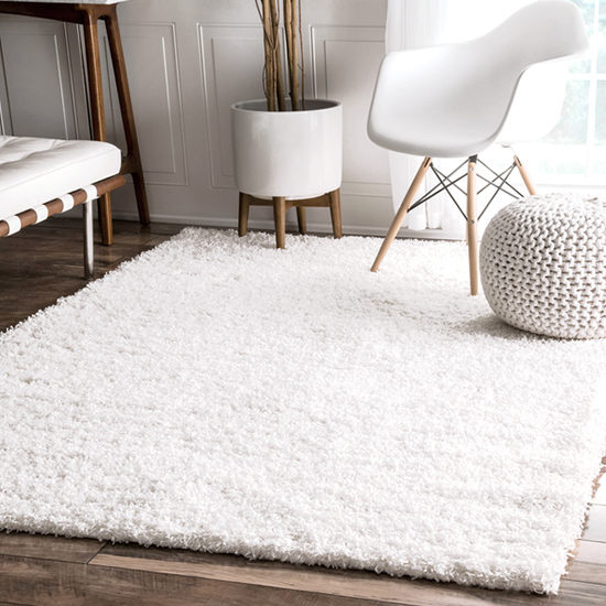 This plush find comes in a variety of colors  so we know you ll be able to  find one that fits your style  Who wouldn t want a pretty shag rug that. Our Favorite Rugs for a Cozy Home