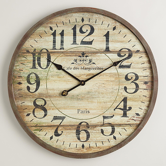Get Your Hands On These Rustic Wall Clocks