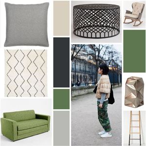 Runway to Color Palette: Seeing Green