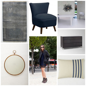 Runway to Color Palette: Midnight Mood