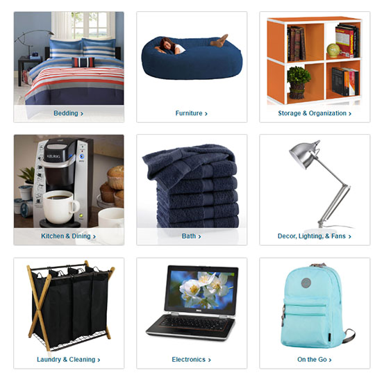 Deal of the Day: Overstock's Back to Campus Savings!