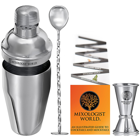 Deal Of The Day Cocktail Shaker Bar Set