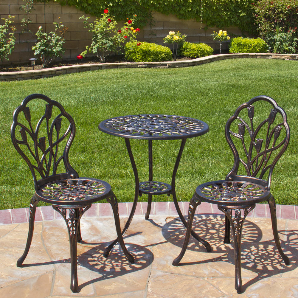 Deal: Deal of the Day Patio Bistro Furniture Set