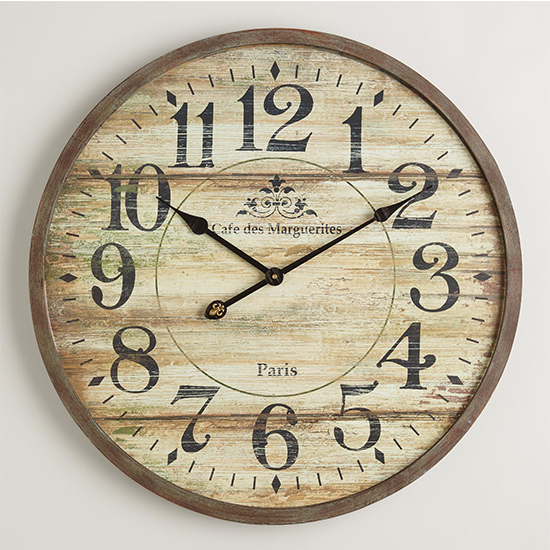 Deal of the Day: Up to 50% Off World Market's Distressed Clocks