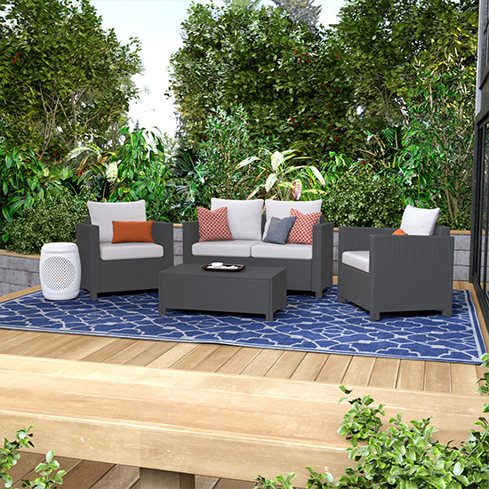 Time to kick off the summer season with some new outdoor furniture finds  and more! Need a new outdoor seating setup? Check out this Portfolio  Aldrich Set ... - Deal: Deal Of The Day Overstock Patio And Outdoor Memorial Day Sale
