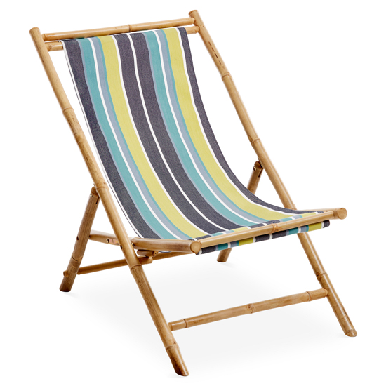 Deal of the Day $49 One Kings Lane Bamboo Lounge Chairs