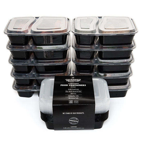 Deal of the Day: 62% Off California Home Goods Compartment Containers