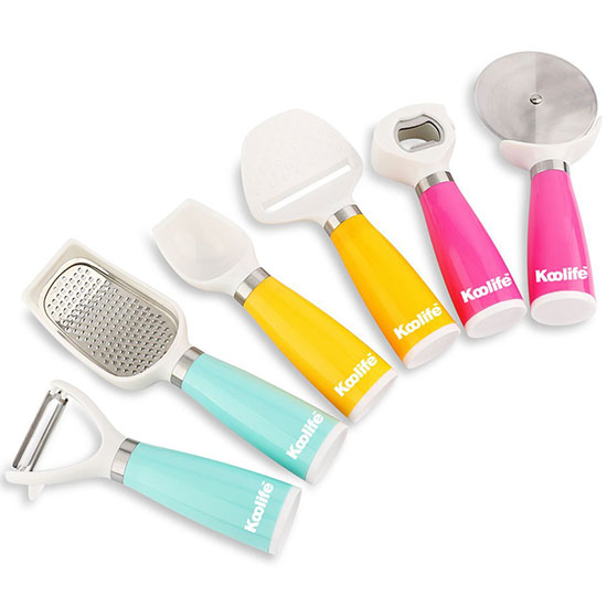 Deal of the Day: 72% Off Koolife 6-Piece Kitchen Gadgets Tool Set