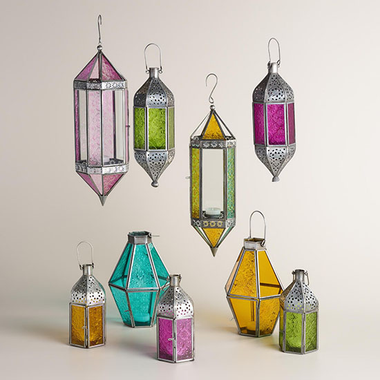 Deal of the Day: 40% Off World Market's Moroccan Raya Lanterns