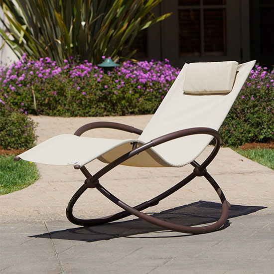 Deal of the Day: 70% Off This Modern Orbital Lounger