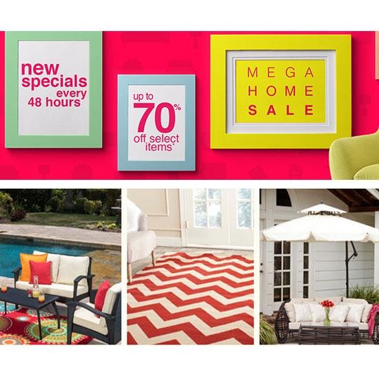 Deal of the Day: Up to 70% Off at Overstock's Mega Home Sale