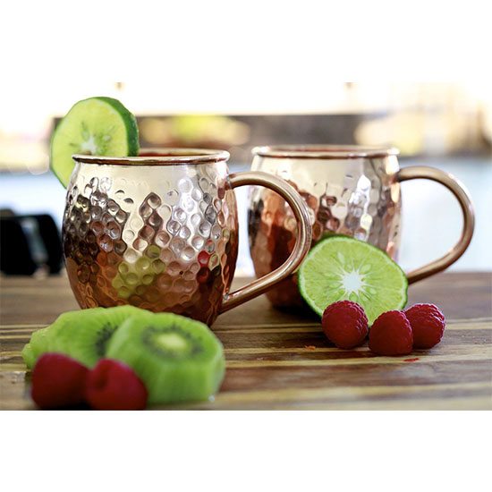 Deal: Deal of the Day: 56% Off Set of Two Moscow Mule Cups